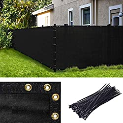 in budget affordable 4 x 50 inch Amgo windshield, black, with brackets and eyelets, sturdy …