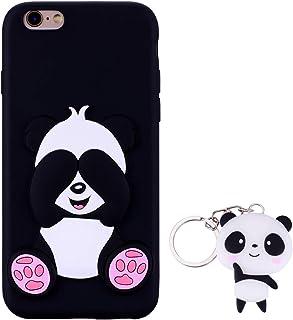 d3b46fdf059 HopMore Panda Funda para iPhone 6S / 6 (4.7 Inch) Silicona con Diseño 3D