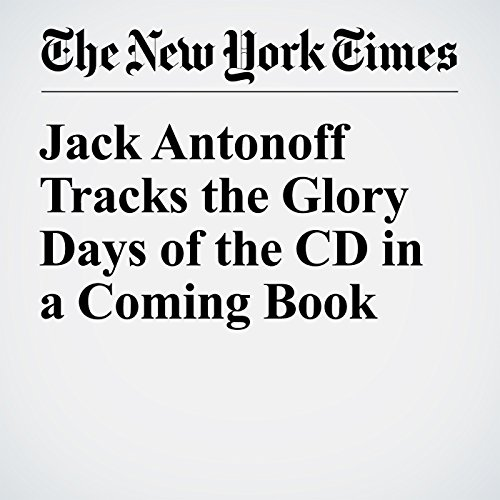Jack Antonoff Tracks the Glory Days of the CD in a Coming Book cover art