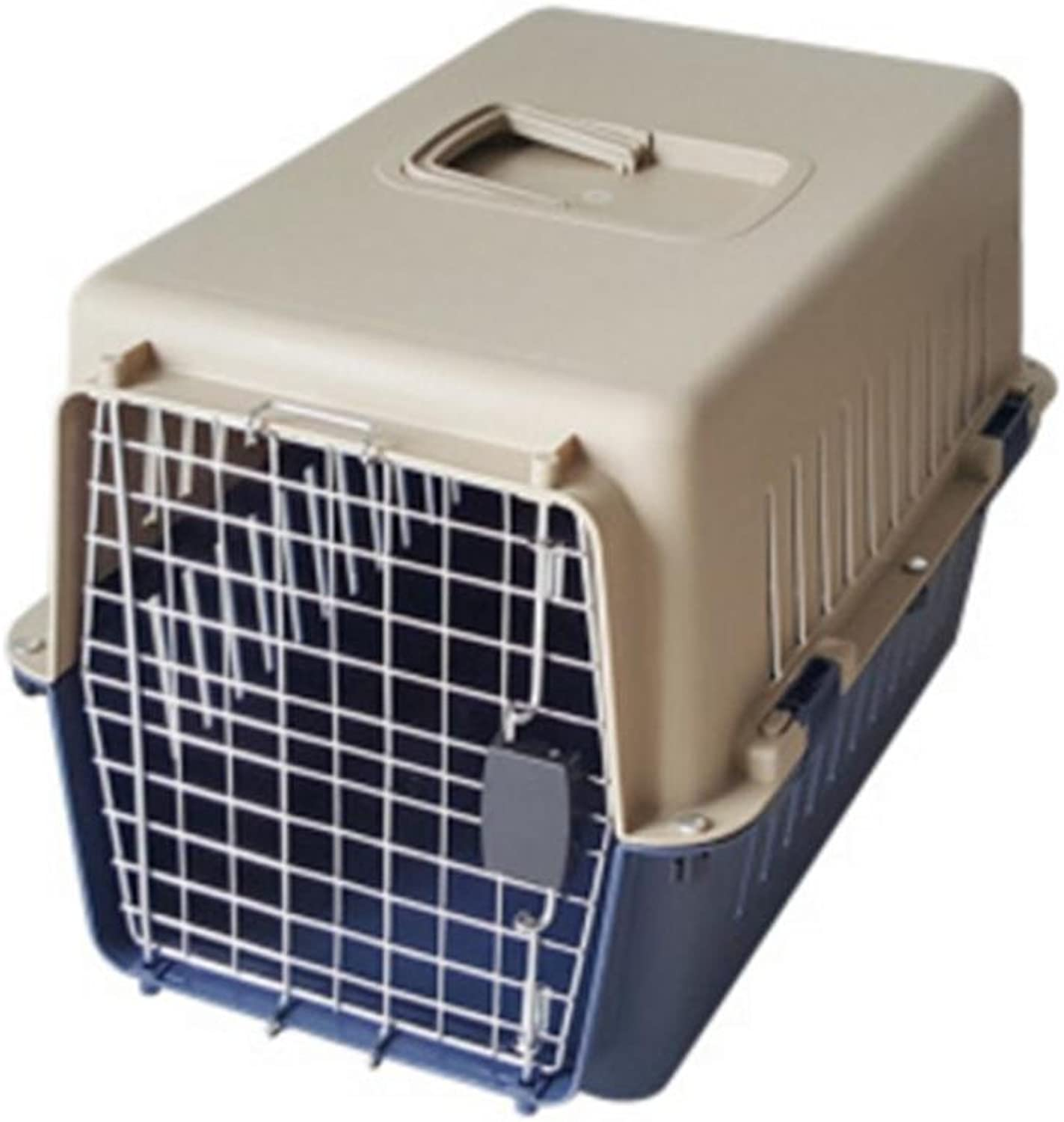 OOFWY Pet Box   Cat And Dog Dedicated Aviation Box   Portable Travel Box  Pet Nest   Quality PVC Resin Material , D2