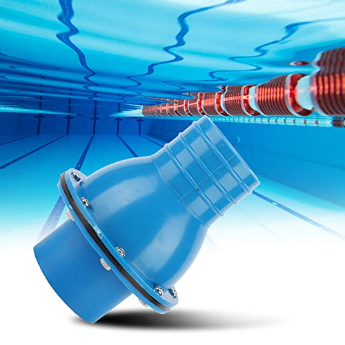 Raguso Langlebig Hohe Zuverlässigkeit Praktisches Zubehör Blue Pool Rückschlagventil Rückschlagventil für Schwimmbad Für Spa-Bad
