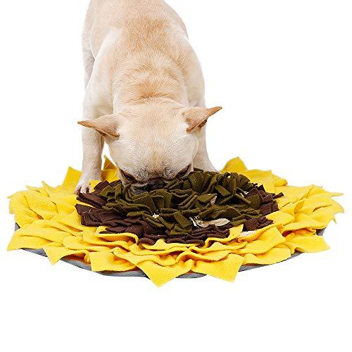 Schnüffelteppich Hund Snuffle Mat, Sniffing Mat Futtermatte Katzen Groß Schnüffeldecke Hund Schadstofffreies Hundespielzeug Schnüffelrasen Schnupftabakmatte Fütterungsmatte Hunde Schnüffelspielzeug