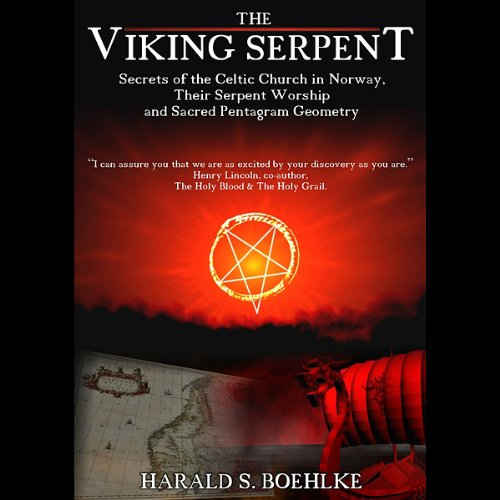 The Viking Serpent audiobook cover art