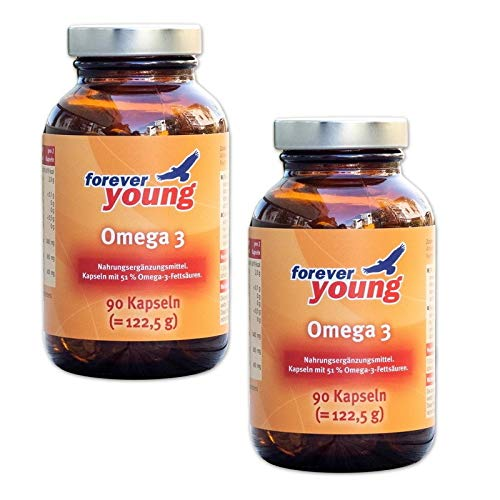 Forever Young Omega 3, 2 x 90 Kapsel, Neutral