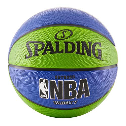 Best Buy! Spalding NBA Varsity Basketball 29.5 - Green/Blue