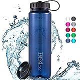 """720°DGREE Trinkflasche """"simplBottle"""" - 1l - Deine Auslaufsichere Wasserflasche - Die Sportflasche für Sport, Gym, Fitness, Fahrrad, Kinder, Schule & Büro - BPA-Frei"""