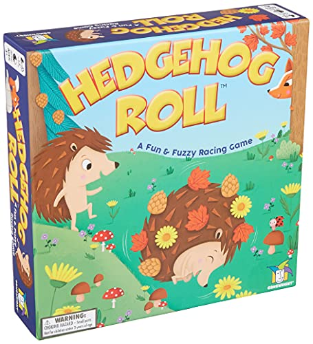 Hedgehog Roll - A Fun & Fuzzy Racing GameNEW 2021 Fast & Fun Cooperative Board Game for Preschool, Pre-K, Toddler and Kids by Gamewright