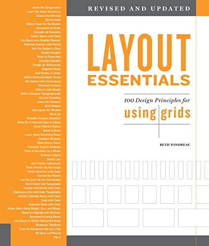 Layout Essentials Revised and Updated: 100 Design Principles for Using Gridsの詳細を見る