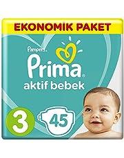 Prima Bebek Bezi Aktif Bebek 3 Beden Midi