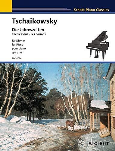 Die Jahreszeiten: Hinweise zur Aufführung von Lev Vinocour. op. 37bis. Klavier. (Schott Piano Classics)