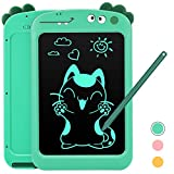 Toys for 3-12 Year Old Boys, Dreamingbox 8.5 Inch LCD Writing Tablet for Kids Boys Girls Dinosaur Toys Age 3-12 LCD Drawing Board for Kids Boy Birthday Gifts for 3-12 Year Old Boys Girls Green