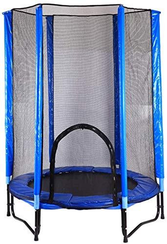 Schommel Trampoline (blauw) Binnen de baby Buiten Thuis vangnet for Trampoline Indoor Trampolines Verhoog
