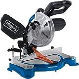 Scheppach Kappsäge HM80L (Gehrungssäge mit 1500 Watt, Sägeblatt-Ø 210mm, 24 Zähne, Schnittbreite 120mm, Schnitthöhe 60mm, beidseitig schwenkbar und neigbarer Sägekopf, Laser)