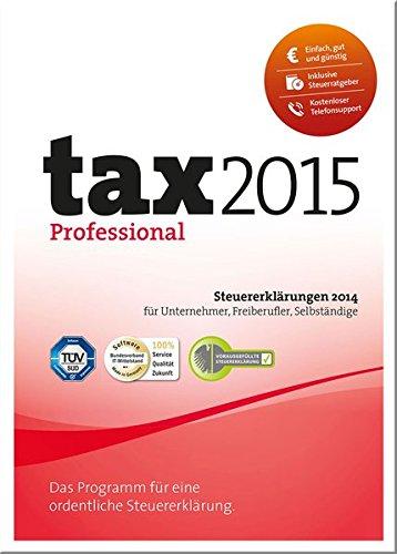 tax 2015 Professional (für Steuerjahr 2014)
