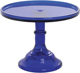 Best vintage blue glass cake stand Reviews