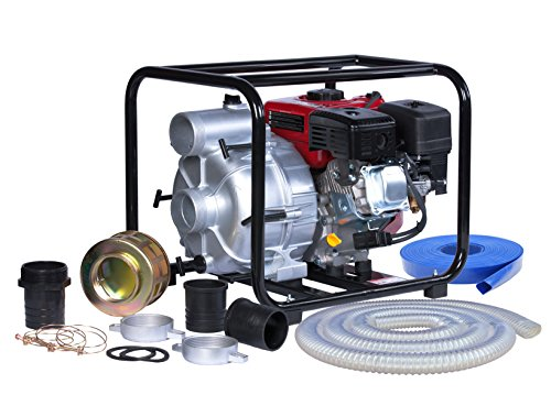 A-iPower AWP80 7.0HP 208cc 3 Inch Gas Engine Trash Water Pump