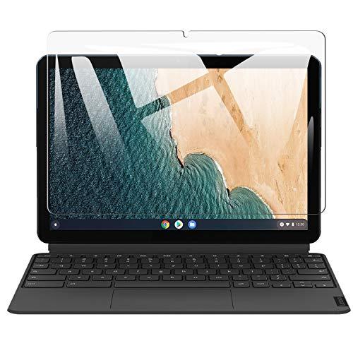 SHINEZONE 【色ムラなし】 Len-ovo IdeaPad Duet Chromebook 10.1 インチ 液晶保護フィルム 9H硬度