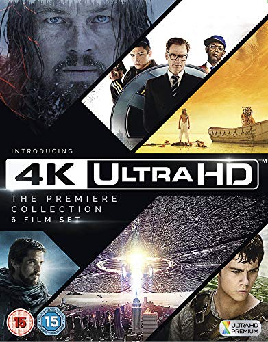 4K Ultra HD - The Premiere Collection(The Revenant,Kingsman,Life of Pi,The Maze Runner, Independence Day,Exodus) Import mit deutschem Ton