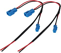 2PCS Accessory Wiring Pigtail ConnectorPower Port Pigtail Wiring Wire Harness Pigtail Connectors for Can Am Maverick X3 Pigtail Wire Connector