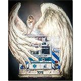 Puzzle 1000 piezas Mujeres ambulancia ángel fotos doctor regalo en Juguetes y juegos Gran ocio vacacional, juegos interactivos familiares Rompecabezas educativo de juguete par50x75cm(20x30inch)