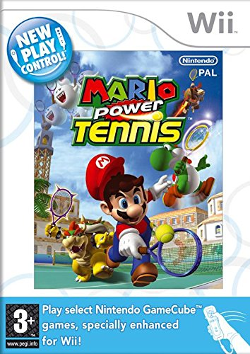 Wii Mario Power Tennis (New Play Control!) (Eu)