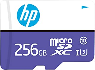PNY HP - Tarjeta de Memoria Flash MicroSDXC (256 GB, MX330, Clase 10, U3, velocidades de Lectura de hasta 100 MB/s) (Hfud256-1U3PA)