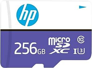HP 256GB mx330 Class 10 U3 microSDXC Flash Memory Card,...