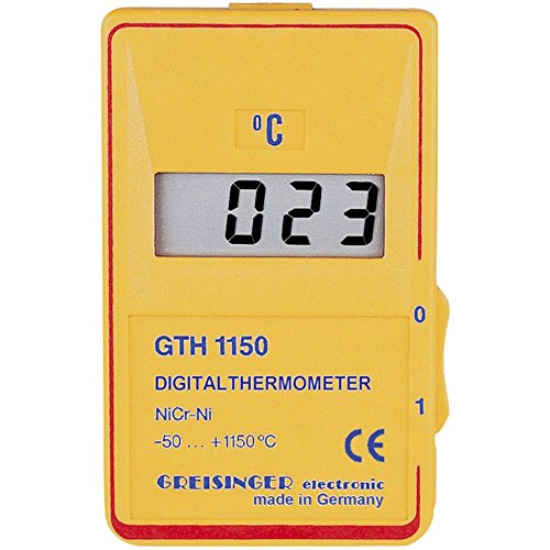 Preisvergleich Produktbild Greisinger GTH 1150C -50 bis +1150°C Temperaturmessgerät Typ K