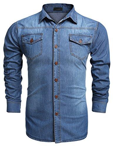 Burlady -   Jeanshemden Herren
