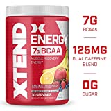 Best Energy Drink For Men - XTEND Energy BCAA Powder Knockout Fruit Punch | Review