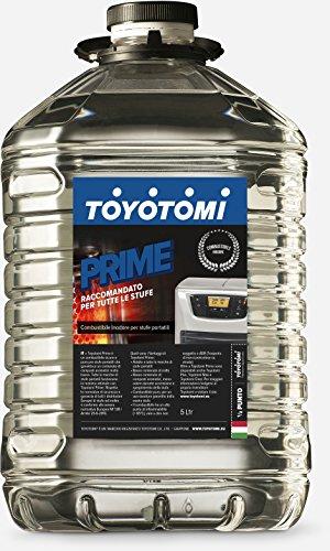 Toyotomi Prime 5 Litri, Combustibile Universale di Alta qualità categoria, Inodore, Adatto a Tutte Le stufe Portatili a stoppino ed elettroniche, Blu_5