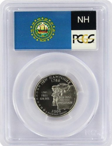 2000 New Hampshire State S Clad Proof Quarter PR-69 PCGS