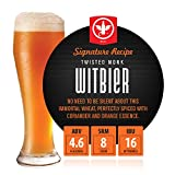BrewDemon 2 Gal. Twisted Monk Witbier Beer Recipe Kit - Makes a Wicked-Good 4.6% ABV Batch of Craft Brewed Signature Beer