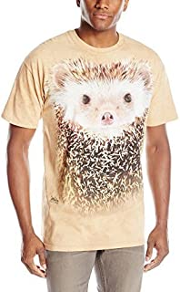 The Mountain unisex-adult Big Face Hedgehog The Mountain Men's Big Face Hedgehog T-Shirt (pack of 1)