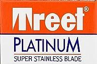 Treet Platinum 両刃替刃 10枚入り(10枚入り1 個セット)【並行輸入品】