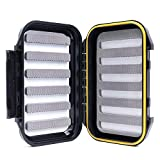 Maximumcatch OR Fliegenbox wasserdichte und tragbare Fliegendose mit Easy-Grip Schlitzschaum (Schlitzschaum)
