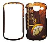 Steam punk Clock Design Rubberized Snap-on Protective Cover Case for Samsung Brightside U380