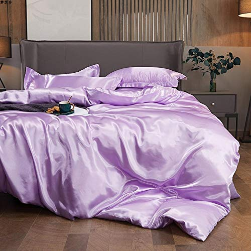 Greatideal Home Bedding,4 Piece complete bedding set duvet set with quilt cover,valance sheet and pillow shams