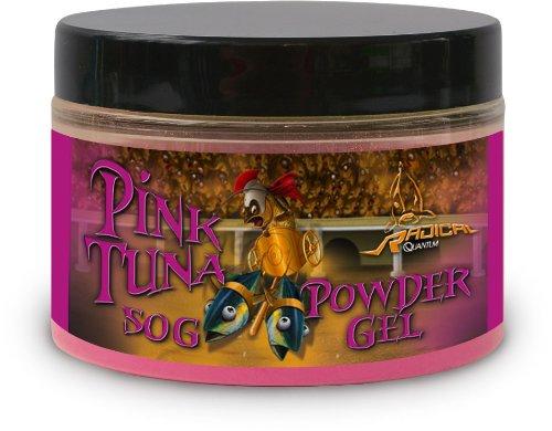 Quantum Radical Grundfutter und Köder Pulver 50g Pink Tuna Neon Puder, Mehrfarbig