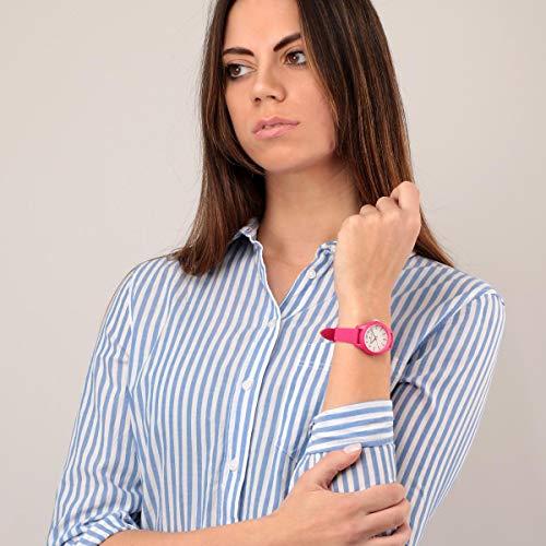 Morellato Orologio da donna, Collezione Soft, in Poliuretano, Silicone, con cinturino in silicone - R0151163504