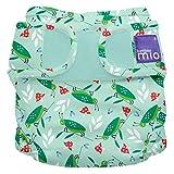 Bambino Mio, mioduo cobertor de pañal reutilizable, saltamonte risueño, talla 2 (9 kg+)