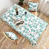 XXDD Mantel Coreano Rectangular Mantel Cuadrado Mantel de Tela para el hogar decoración de Boda para Fiestas A4 140x180cm
