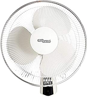 Super General Wall Fan 16 With Remote - White Sg Wf16mr