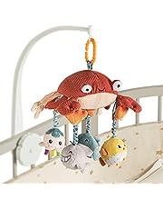 Tumama Baby Hängande Leksaker Mage Timspegel För Krabba Spjälsäng Mobil Aktivitet Plysch Djur