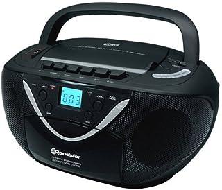 Roadstar 16Matt Black w rcr-4650usmp Portable Stereo CD/MP3Player