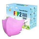 SOYES Mascherine FFP2 - Certificate CE Maschera,4,92 * 2,8 pollici Protezione a 4 strati di Protezione Mascherina 20 pezzi Mascherine(Rosa
