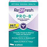 RepHresh Pro-B Probiotic Feminine Supplement Capsules, 30 Count