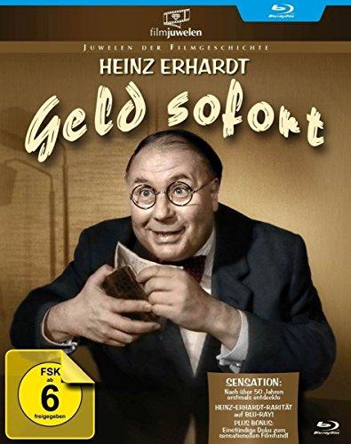 Heinz Erhardt: Geld sofort - (plus Bonus: 1 Std. Doku zum Filmfund) - Filmjuwelen [Blu-ray]