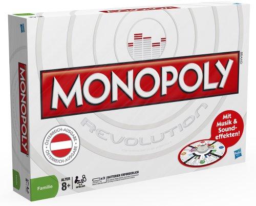 Hasbro 17146156 - Monopoly Revolution (versión de Austria)