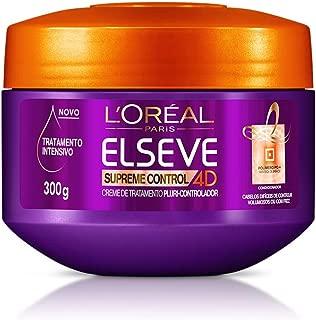 Creme de Tratamento Supreme Control 4D Elseve 300 g, L'Oréal Paris